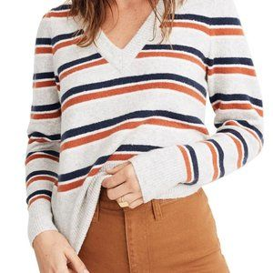 NWT | Madewell | Stripe Margo Pullover | Size M